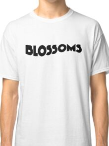 Blossoms Band Logo Black Classic T-Shirt