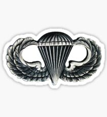 Paratrooper Jump Wings Sticker