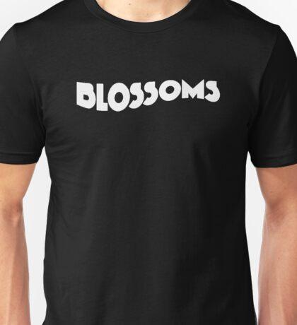 Blossoms Band Logo White Unisex T-Shirt