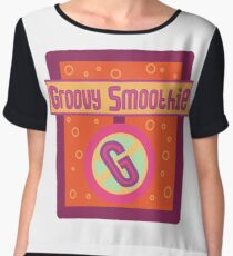 The Groovy Smoothie Women's Chiffon Top