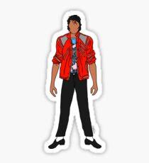 Beat IT Jackson Sticker