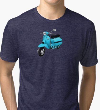 Scooter T-shirts Art: DL 125 Scooter Design Tri-blend T-Shirt