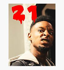 21 savage Photographic Print