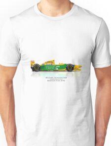Michael Schumacher - Benetton B192 Unisex T-Shirt