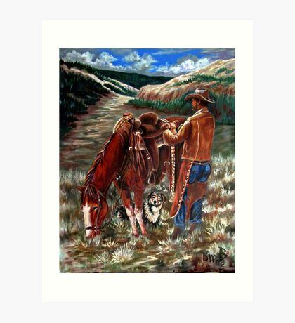 High Country Morning Art Print