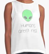 Humans aren't real Contrast Tank