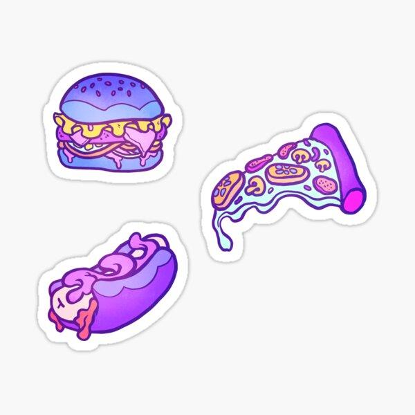 Junkfood Pattern  Sticker