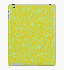 Floral Print - Japanese Brush iPad Case/Skin