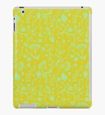 Floral Print - Japanese Brush iPad Case/Skin