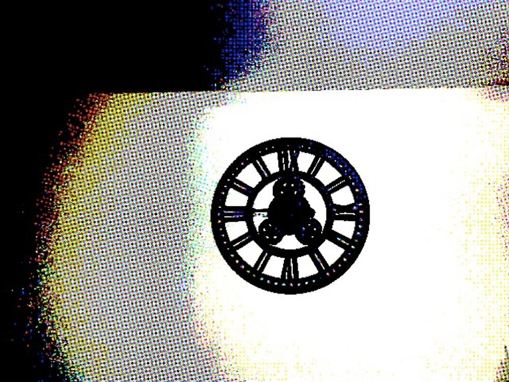 Clock On A Wall by Mark DeVito