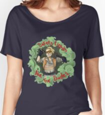 Safety Lights are for Dudes Women's Relaxed Fit T-Shirt