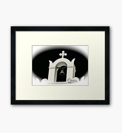 Santorini  . Greece .  Wspomnienia. by © Andrzej Goszcz Framed Print