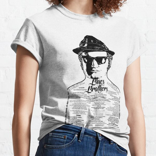 Jake Blues Brothers tattooed 'Four Fried Chickens' Classic T-Shirt