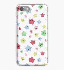 Luma Print White iPhone Case/Skin