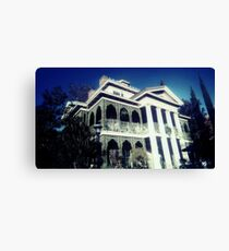 Haunted Mansion Canvas Print