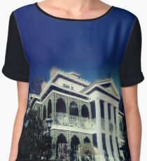 Haunted Mansion Women's Chiffon Top
