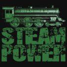 Steam Power Vintage Steam Loco by Steve Crompton