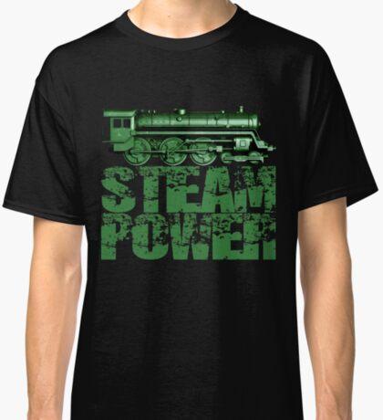 Steam Power Vintage Steam Loco Classic T-Shirt