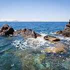 Stromboli and the Sea by laurabaker