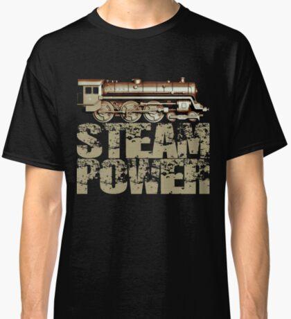 Steam Power Vintage Steam Engine Classic T-Shirt