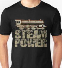Steam Power Vintage Steam Engine Unisex T-Shirt