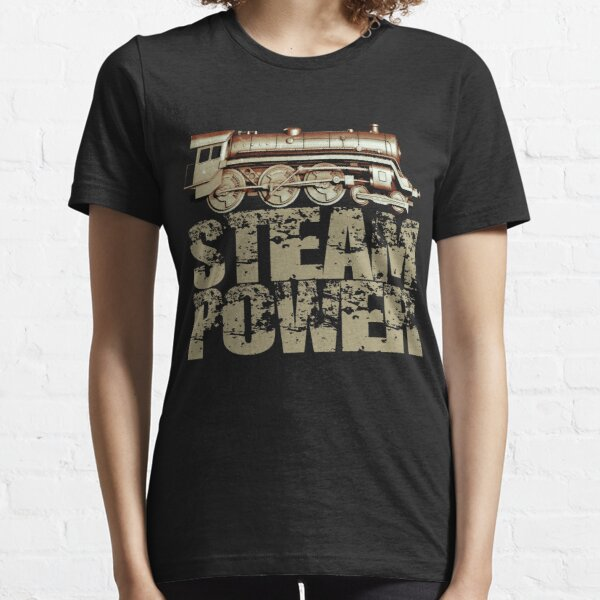 Steam Power Vintage Steam Engine Essential T-Shirt