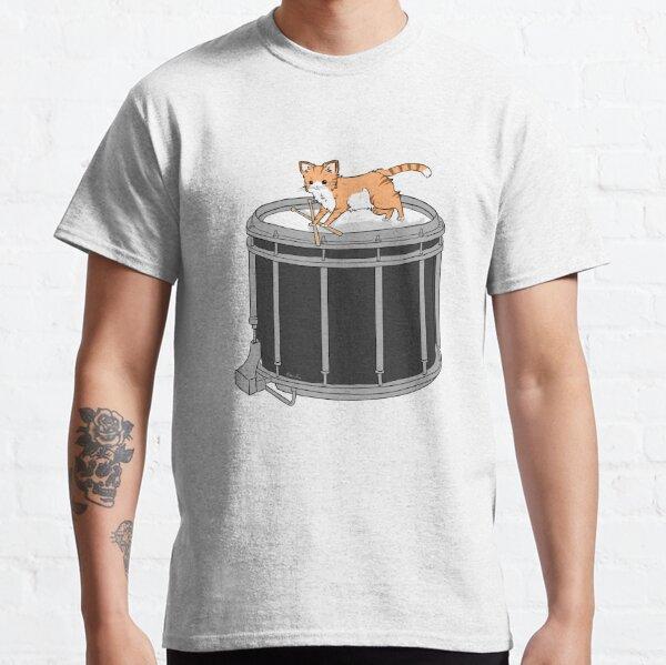 Drum cat Classic T-Shirt