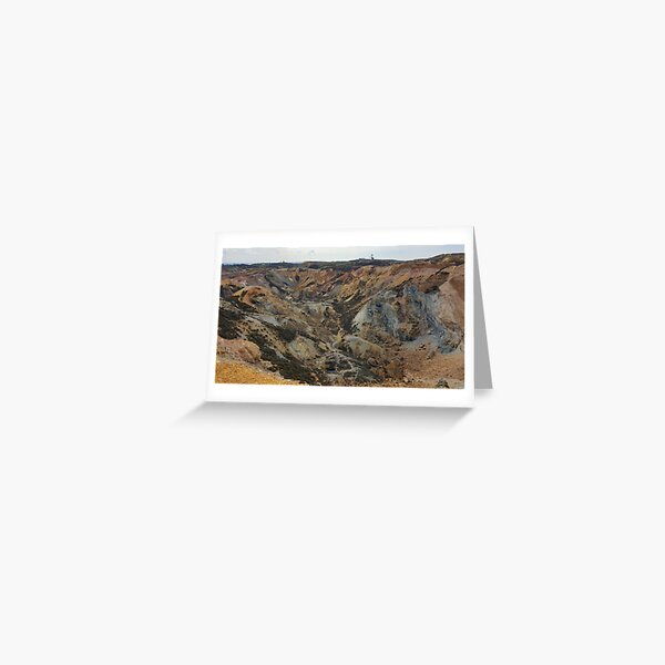 The Quarry, Parys Mountain Greeting Card