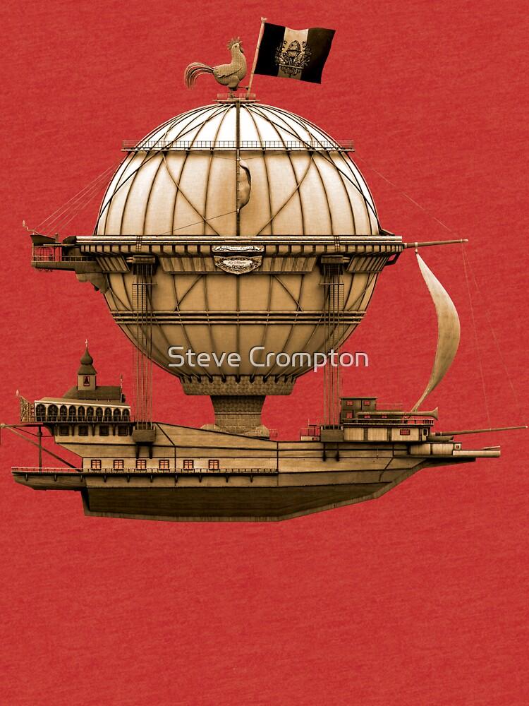 Steampunkesque Vintage Hot Air Balloon Airship Thing by SC001