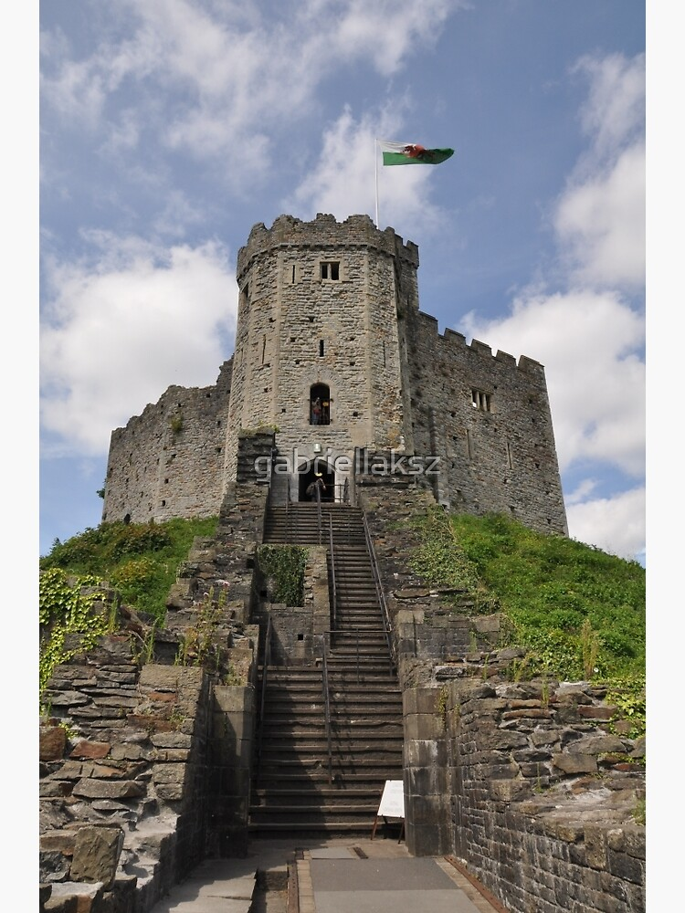 Cardiff Castle by gabriellaksz