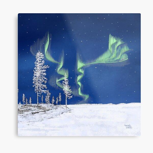 Frozen Forest - Lapland8seasons Metal Print