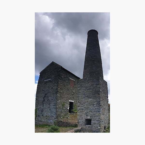 The Pump House and Chimney Photographic Print