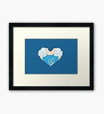 Cinderella's Heart Framed Print