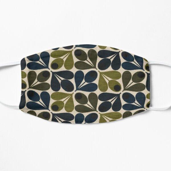 abstract acorn - orla kiely design  Flat Mask