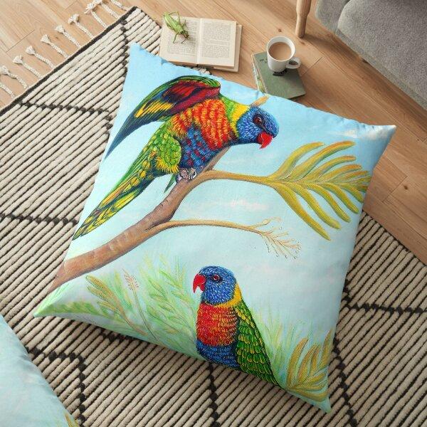 Rainbow Days Floor Pillow
