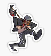 The Skankin' Fool Sticker