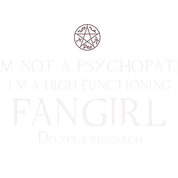 Fangirl-Supernatural by prolificpixie