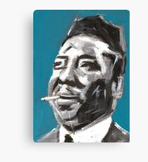 Muddy Waters Delta Blues Musician Canvas Print