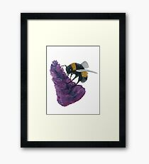 Bee ♥ Framed Print