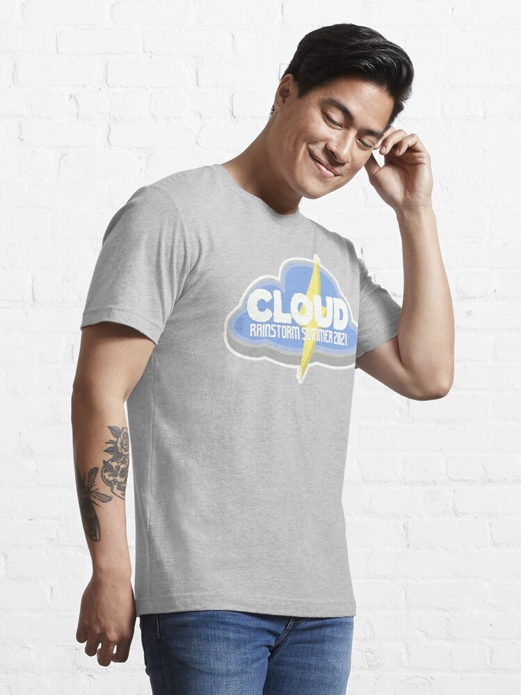 Alternate view of Learning Unlimited Cloud Rainstorm Summer 2021 Essential T-Shirt