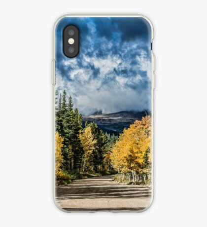 Changing Of The Colors - Colorado's New Coat iPhone Case