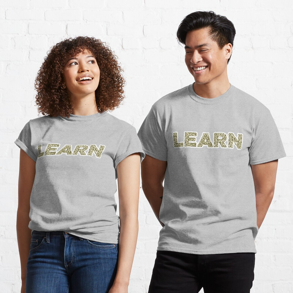 Learn - Learning Unlimited Cloud Classic T-Shirt