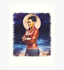 Martha Jones (vignette) Art Print