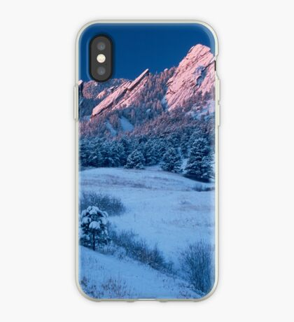 Cathedral - The Flatirons At Sunrise iPhone Case