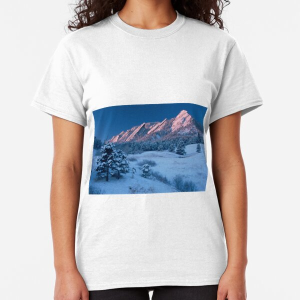 Cathedral - The Flatirons At Sunrise Classic T-Shirt