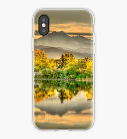 Golden Moments, Gilded Dreams iPhone Case