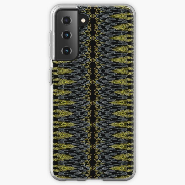 Bohemian Rustic Motif Gold Samsung Galaxy Soft Case