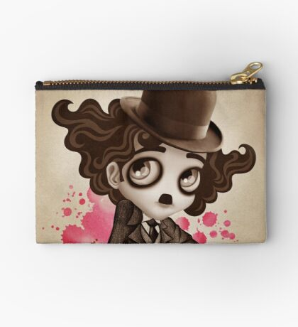 The Little Tramp Zipper Pouch
