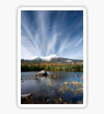 Sandy Stream Pond in Baxter State Park, Maine Sticker