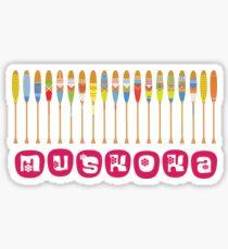 Muskoka For Girls (new font Sticker